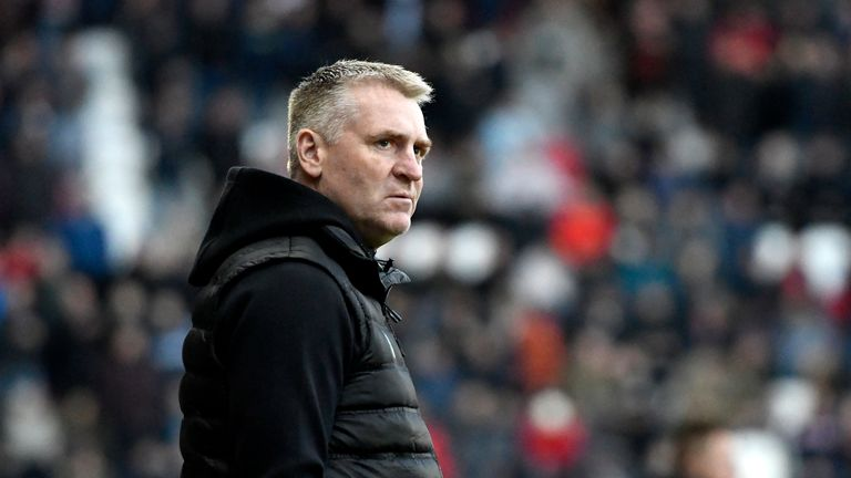 Dean Smith says his remit is to help Aston Villa secure a Premier League return