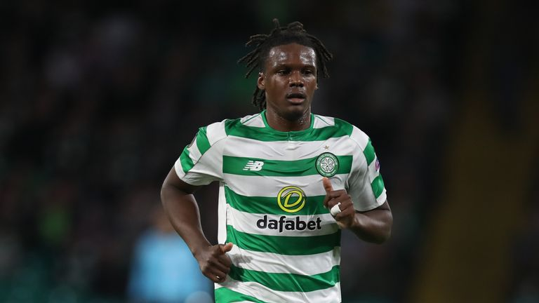 Dedyrck Boyata's Celtic contract expired at the end of the season