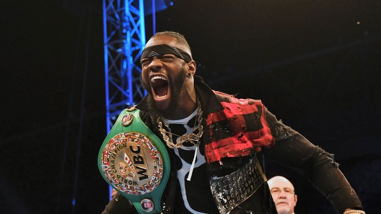 Deontay Wilder makes the next defence of WBC belt against Dominic Breazeale