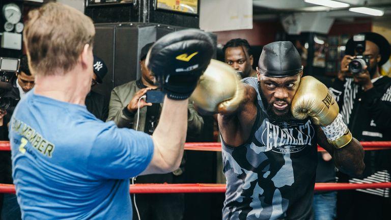Wilder defends his WBC belt against Dominic Breazeale in New York