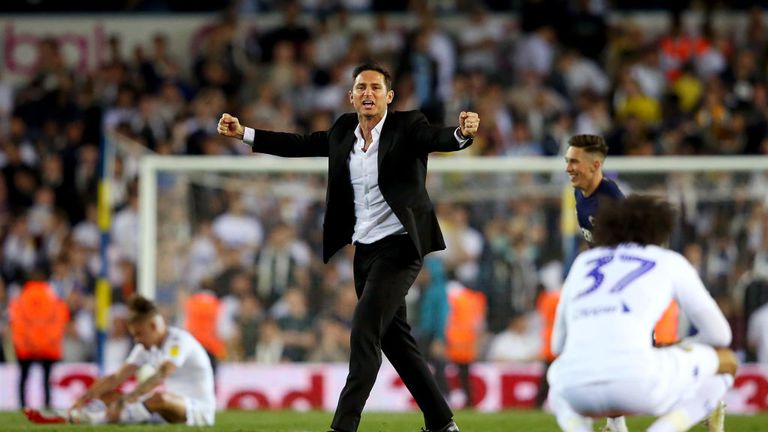 Frank Lampard has done an excellent job at Derby, according to Fabregas