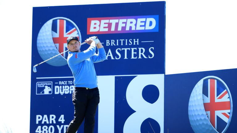 Eddie Pepperell came up just short in his attempt to retain the title