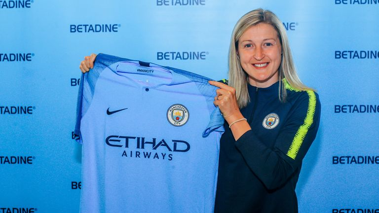 Ellen White will officially join Manchester City on July 1