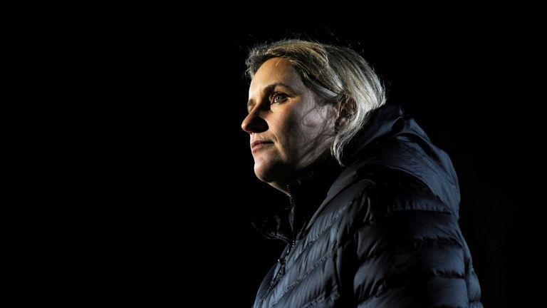 Emma Hayes' coaching experience with Chelsea Women has seen her suggested as a candidate to manage the men's team