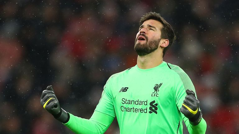 Alisson has been a huge success at Liverpool