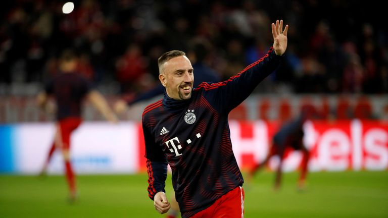 Franck Ribery has been linked with a move to Bramall Lane