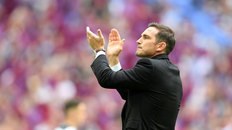 Frank Lampard has been linked with a return to Chelsea