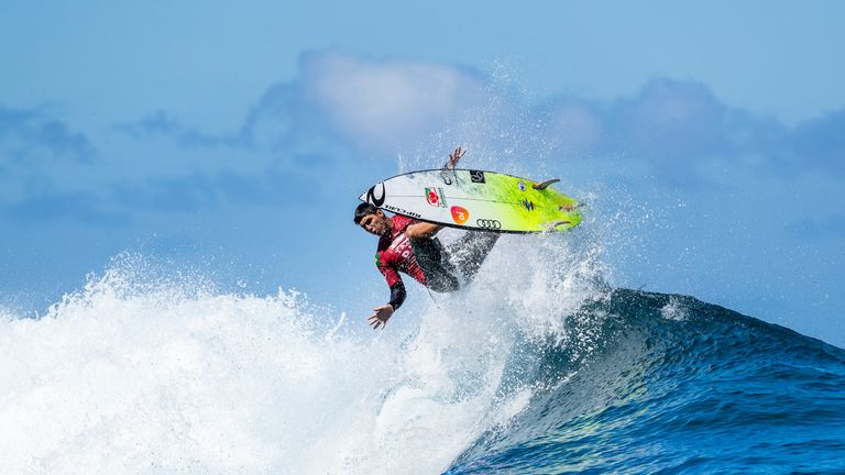 Brazil's Gabriel Medina is the defending men's champion