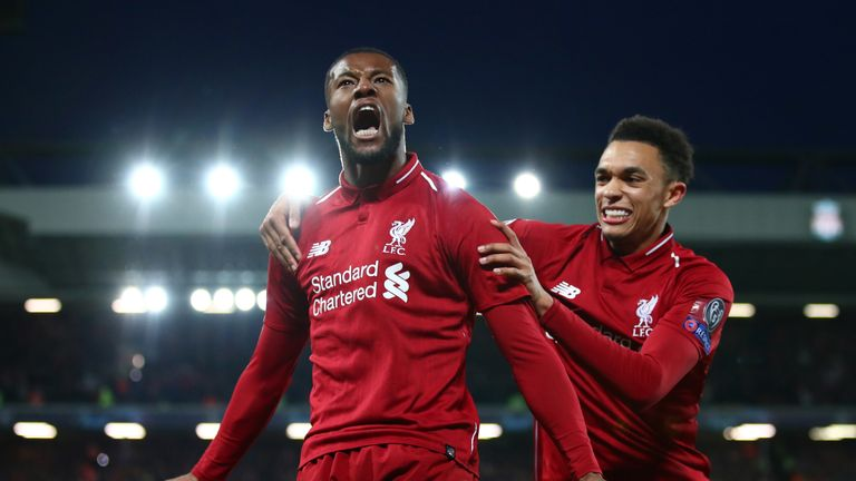 Liverpool beat Barcelona to set up an all-English Champions League final with Tottenham