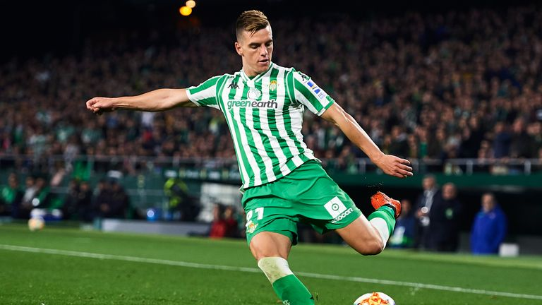 Giovani Lo Celso is valued around £70m by Real Betis, according to Sky sources