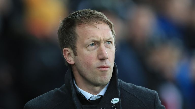 Graham Potter has been in charge of Swansea for one season