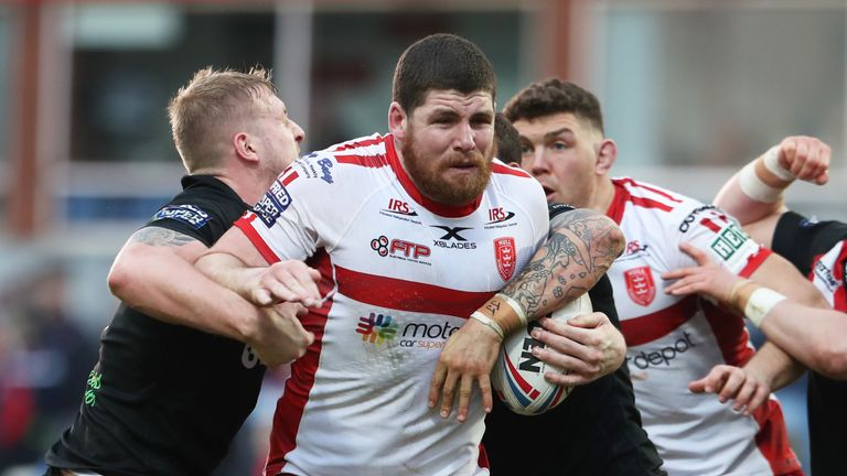 Hull KR welcome back Mitch Garbutt for the game against Huddersfield Giants