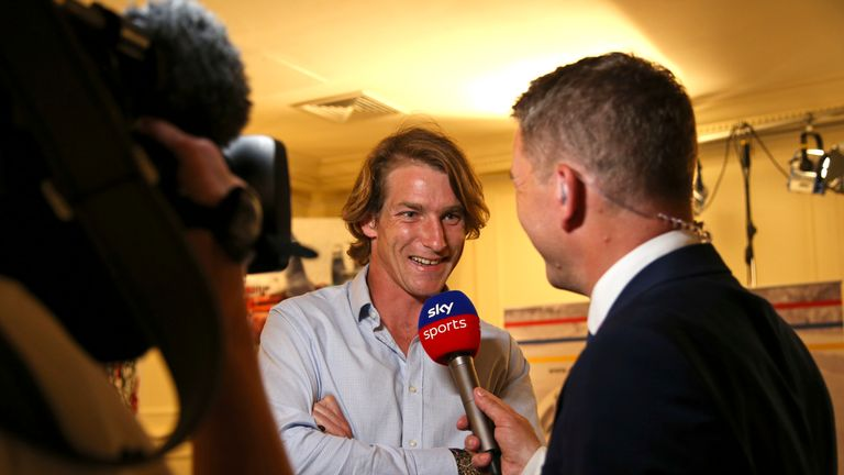 Freddie Hunt speaks to Sky Sports News' Craig Slater in Monaco