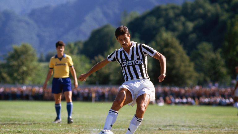 Ian Rush struggled to make an impact at Juventus