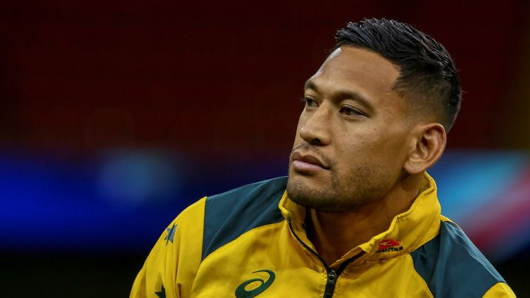 Israel Folau, despite provoking outrage, persisted with inflammatory remarks on social media for two years