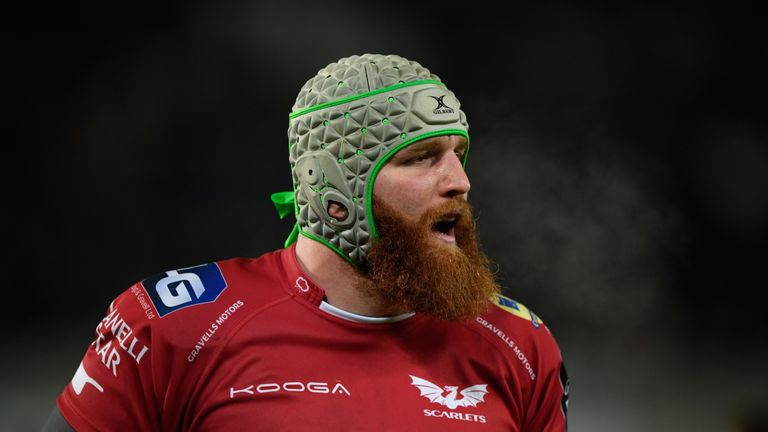 Jake Ball is back in the Scarlets team after recovering from injury