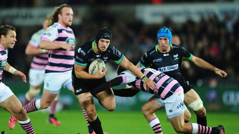 James King misses out for Ospreys due to injury