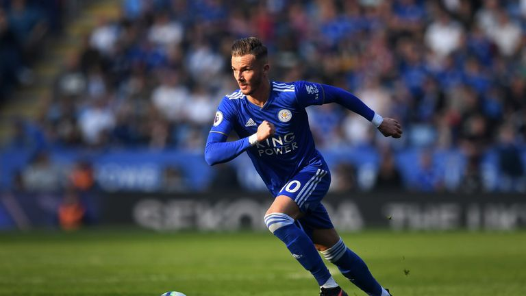 James Maddison has many admirers after a successful debut season at Leicester