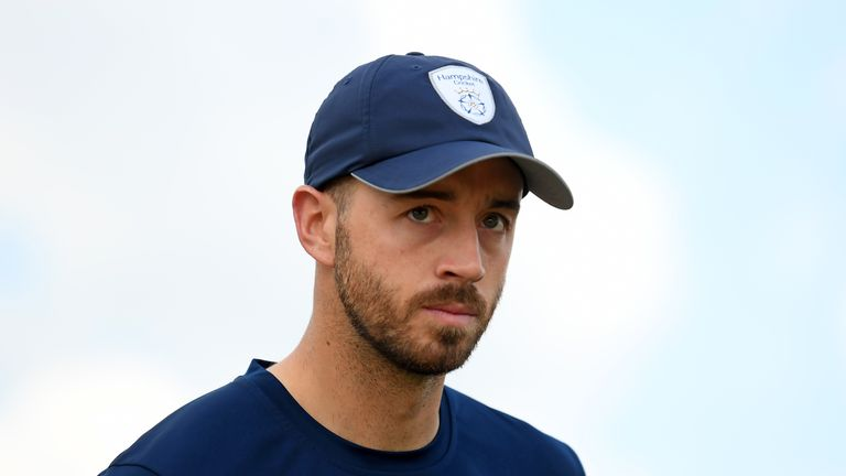 James Vince will be unable to face Somerset for Hampshire on Saturday