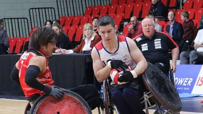 Stead in action for Team GB - Credit: Gemma Stevenson