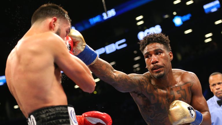Jarrett Hurd called for an immediate rematch
