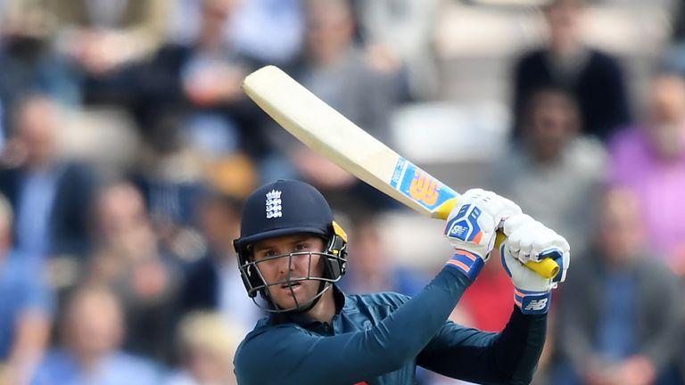 Roy struck 87 in the second ODI