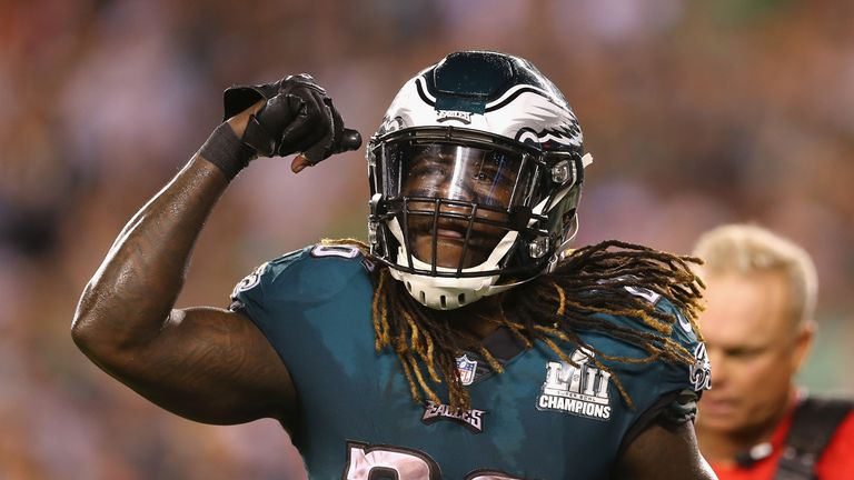 Jay Ajayi is an ambassador for the NFL Academy