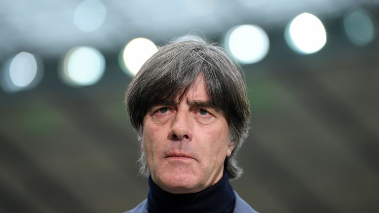 Germany head coach Joachim Low to miss June qualifiers for Euro 2020 with 'squashed artery'