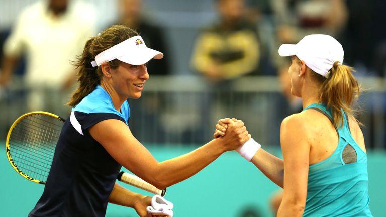Konta showed no apparent sign of fatigue in her victory against Alison Riske