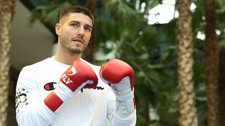 Josh Kelly has promised a spectacular showing