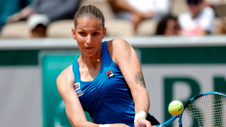 Karolina Pliskova's presence confirms a first for the tournament