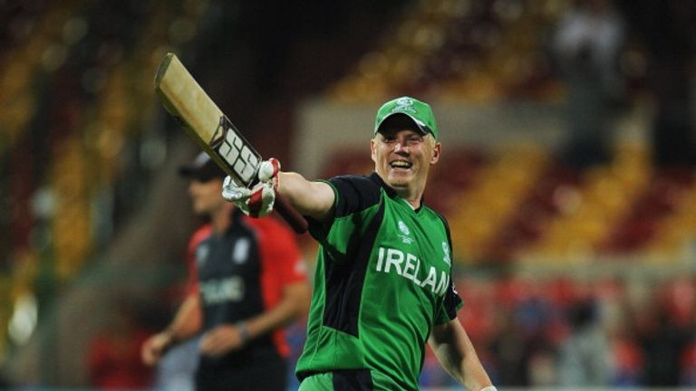 Ireland's Kevin O'Brien put England to the sword with a swashbuckling knock