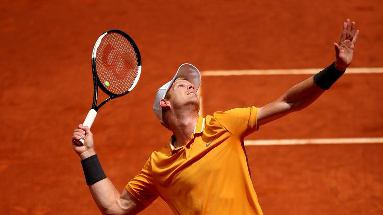 Kyle Edmund has lost four opening-round matches in a row