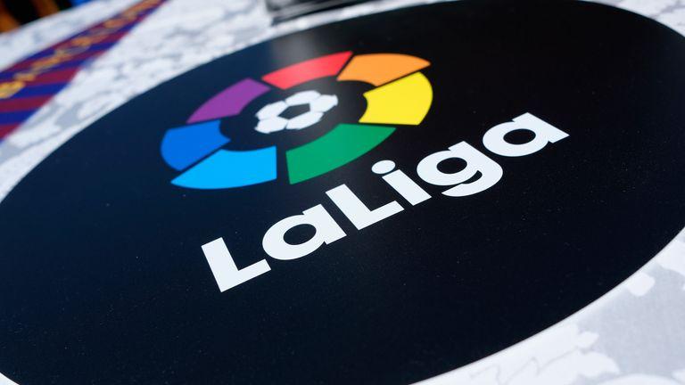 La Liga said the five players who tested positive are asymptomatic