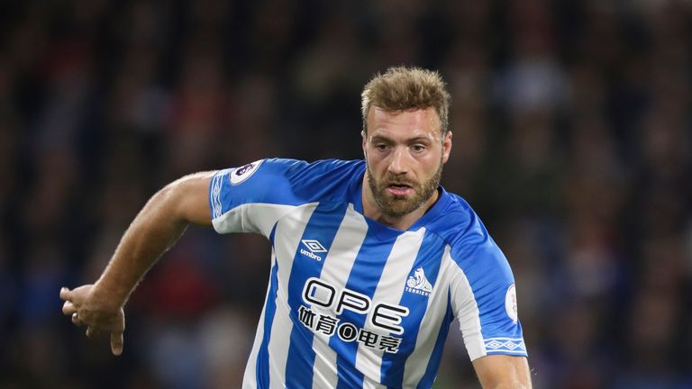 Laurent Depoitre is one of five senior players who will leave Huddersfield