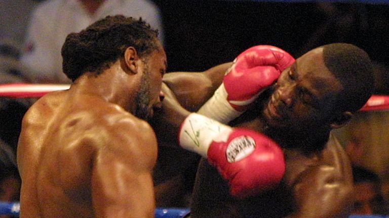 Hasim Rahman shocked Lennox Lewis in 2001