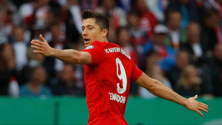 Robert Lewandowski opened the scoring for Bayern