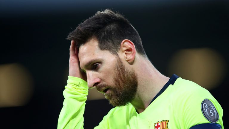 Lionel Messi was stopped by Liverpool in the Champions League semi-finals
