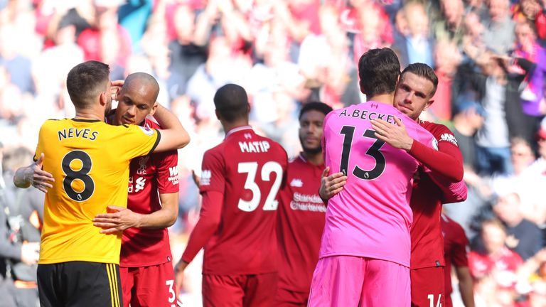 Liverpool players did not get their dream end to the Premier League season
