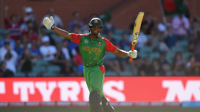 Mahmudullah scored 103 against England and 128no against New Zealand in the 2015 Cricket World Cup