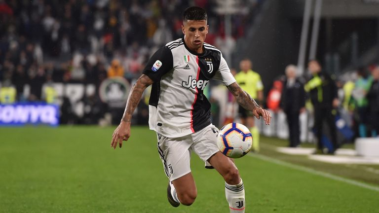 Juventus full-back Joao Cancelo has attracted interest from Manchester City