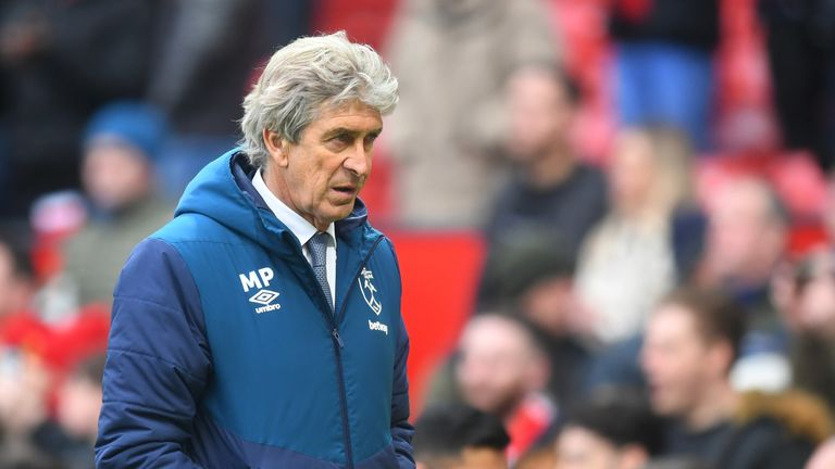 Manuel Pellegrini endured a tough start to the season with West Ham