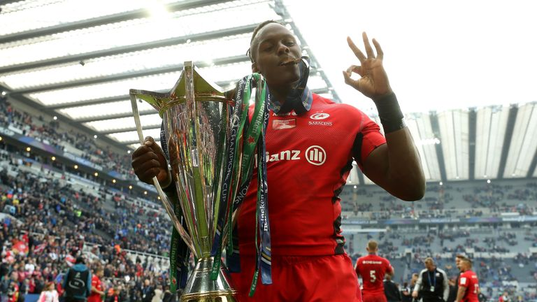 Saracens completed the Premiership and Champions Cup double last season