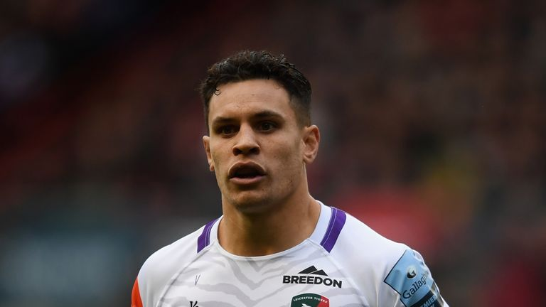 Matt Toomua joined Leicester from the Brumbies three years ago