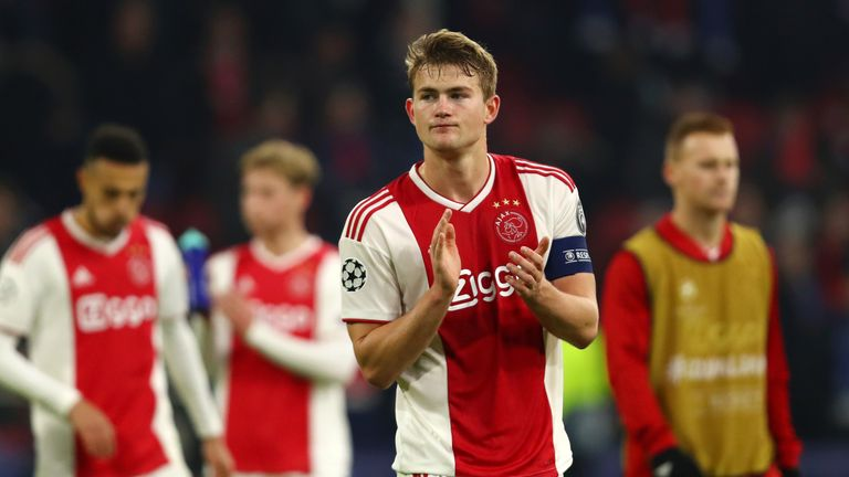 Ajax need to replace Matthijs De Ligt who is expected to leave this summer