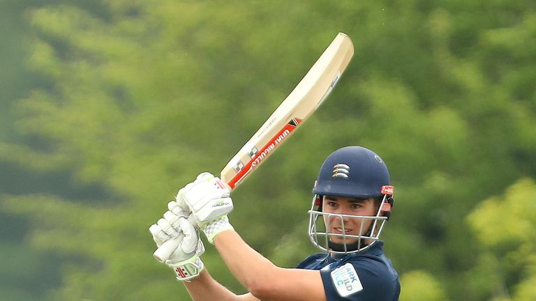 93d20713c17 Max Holden s career-best 166 helped Middlesex into the knockout rounds