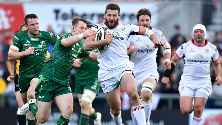 Ulster will look to Stuart McCloskey to set the tone with his aggression