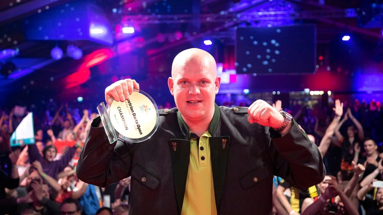 The Dutchman has now won four of the five Euro Tour events in 2019