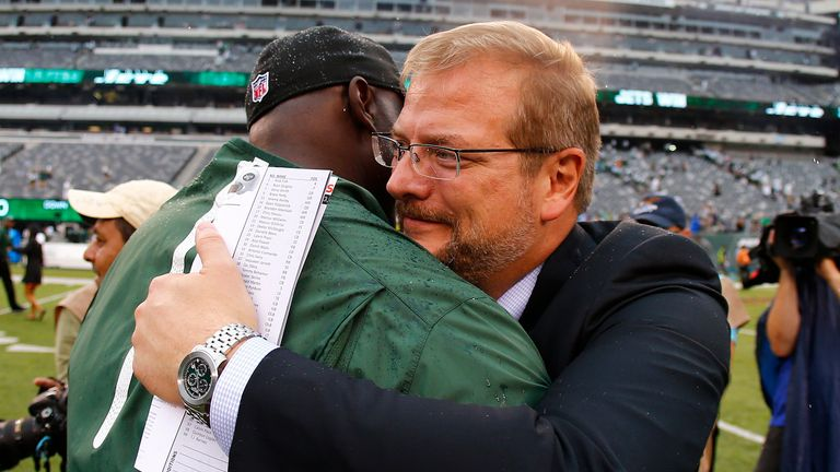 Mike Maccagnan joined the Jets in 2015