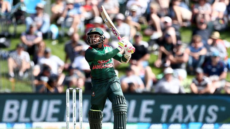 Mushfiqur Rahim contributed two fifties as Bangladesh reached the semi-finals of the 2017 ICC Champions Trophy